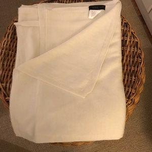 Jjill cream wrap, EUC one small spot